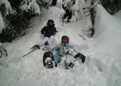 Escursioni invernali con le ciaspole in Val di Zoldo