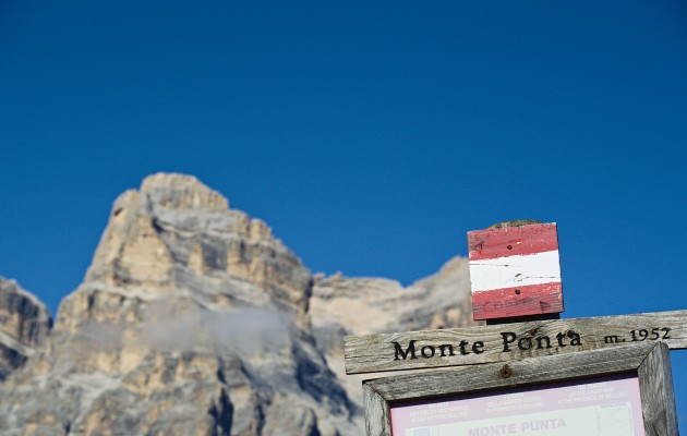 Sentiero estivo: Zoldo – Col de Salera – Monte Punta. <br>Dalle miniere alla Grande Guerra